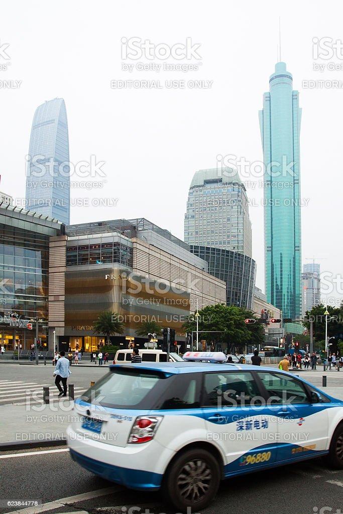 Shenzhen. China stock photo