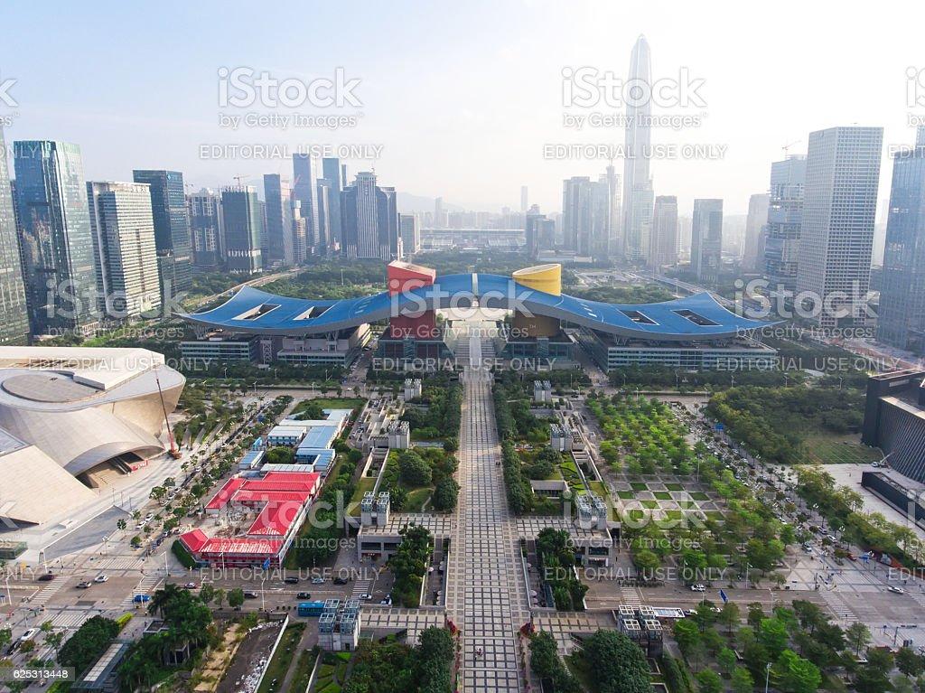 Shenzhen city stock photo