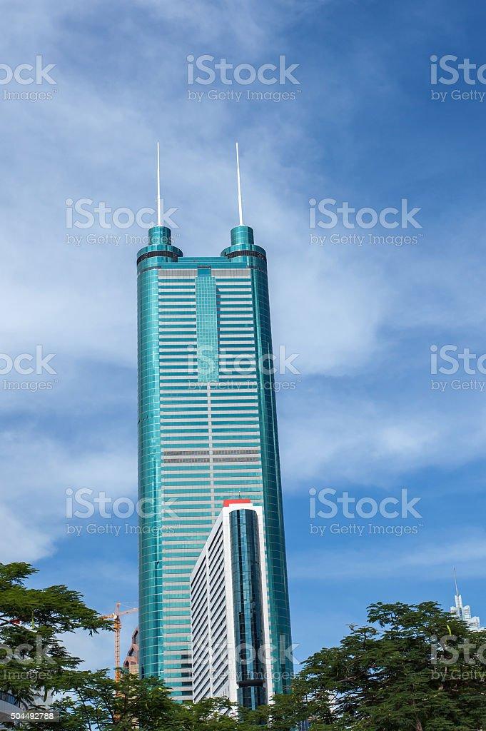 Shenzhen Diwang Mansion stock photo