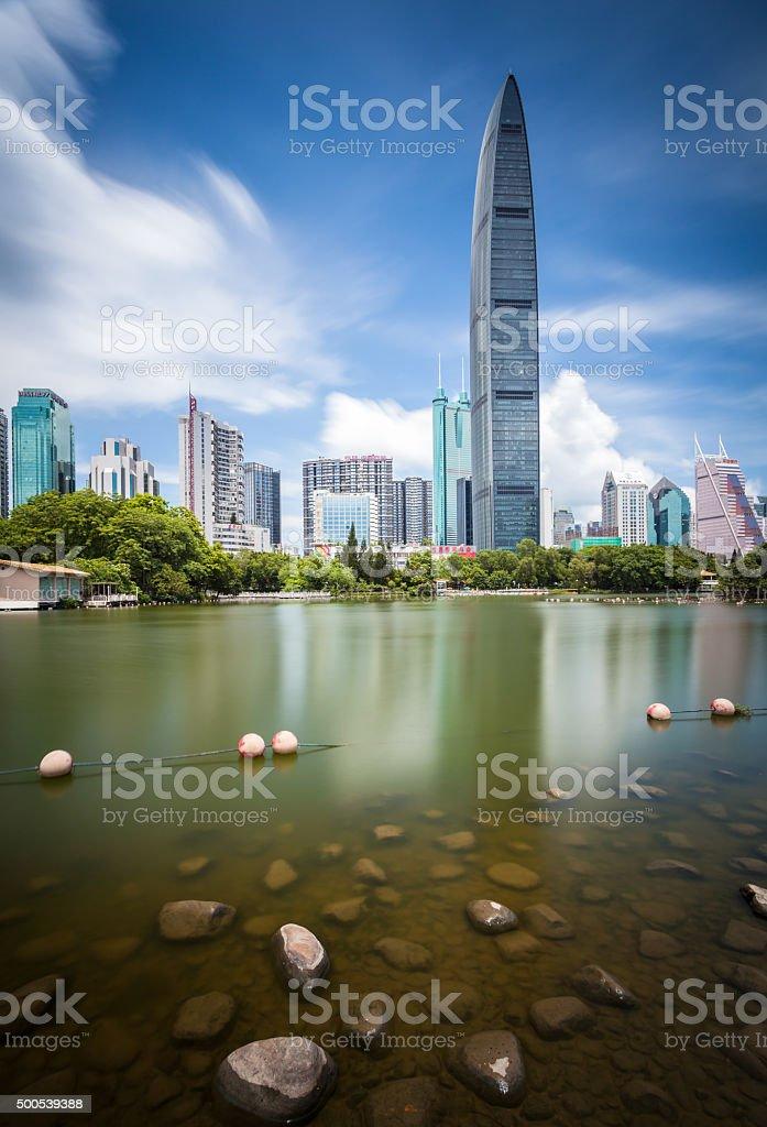 Shenzhen KK100 stock photo