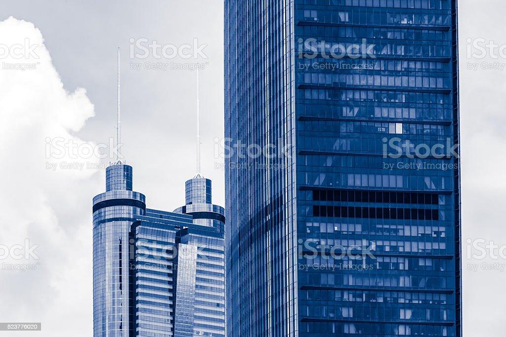 Shenzhen Skyline Close-up stock photo