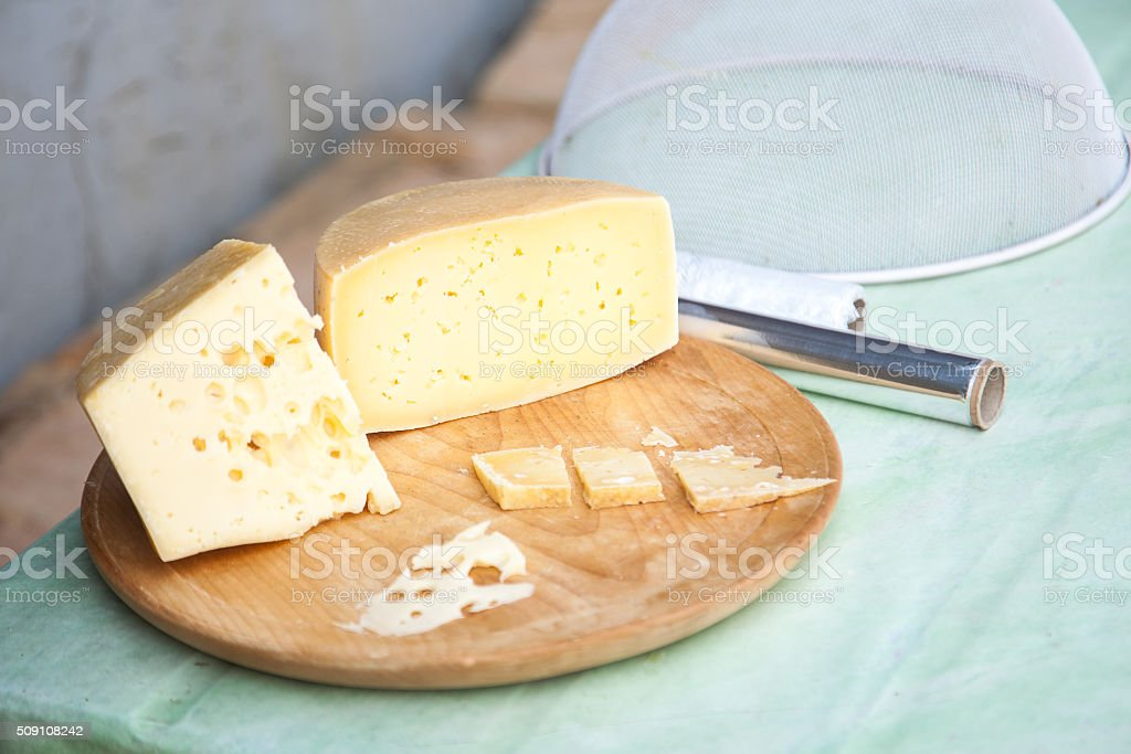Shepard's traditional cheese stock photo