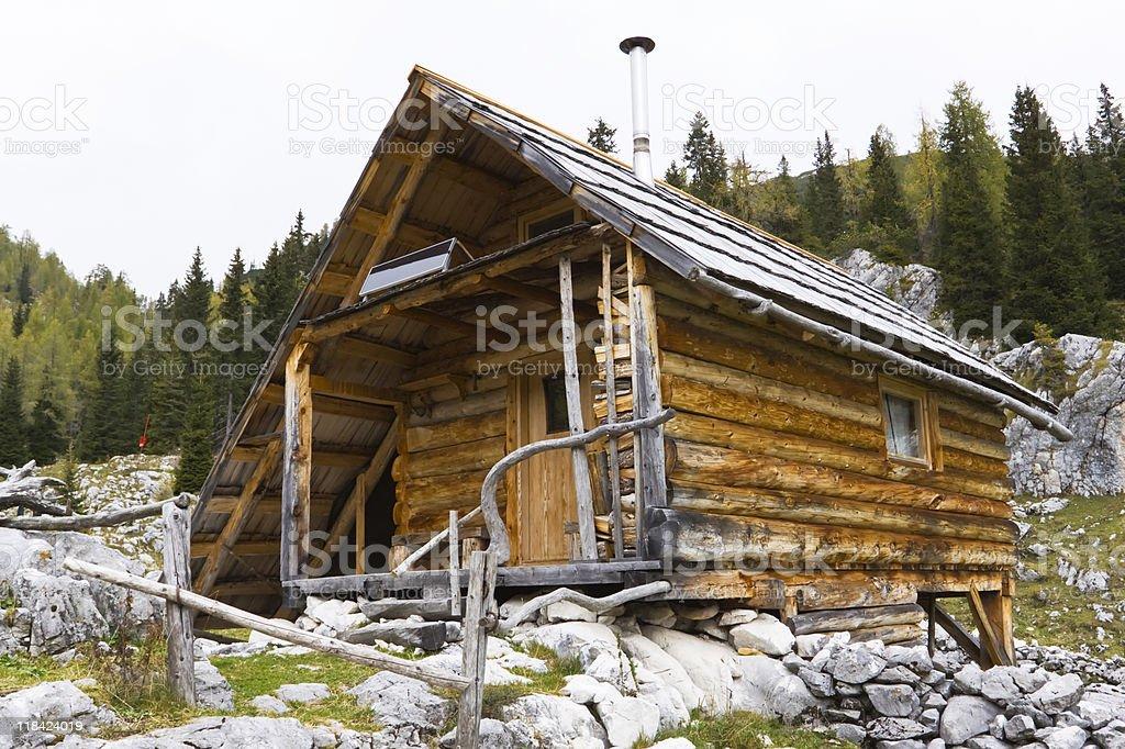 shepherd's cottage royalty-free stock photo