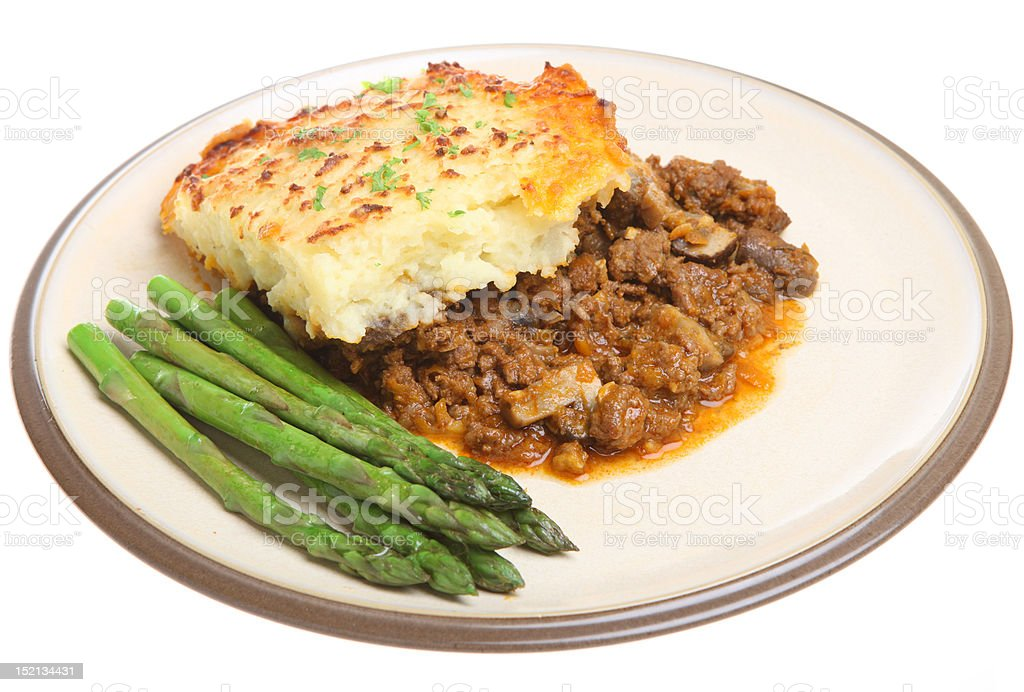 Shepherd's Pie royalty-free stock photo