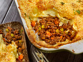 Shepherds Pie with a Parmesan Crust