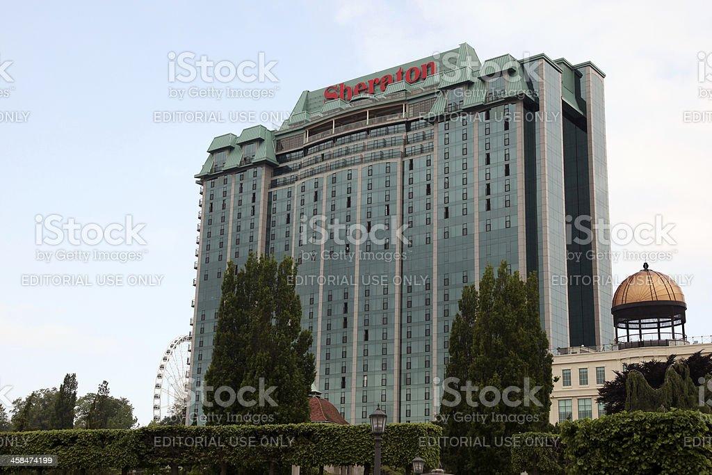Sheraton Hotel stock photo