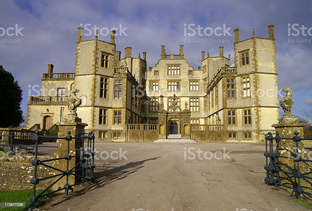 Sherborne Castle stock photo