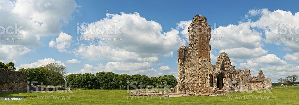 Sherborne Old Castle, Castleton, Dorset, UK stock photo