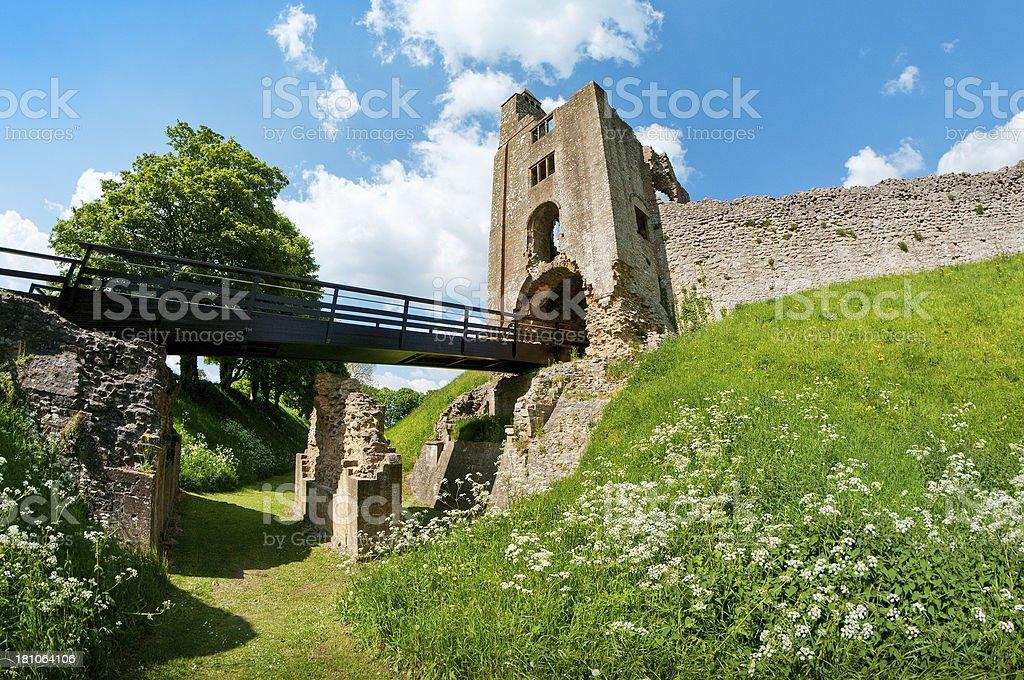Sherborne Old Castle, Castleton, Dorset, United Kingdom stock photo