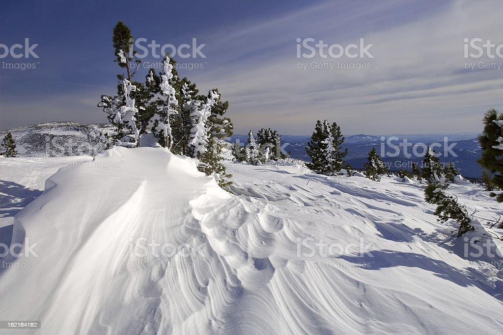 Sheregesh. Siberian mounts. 04 royalty-free stock photo