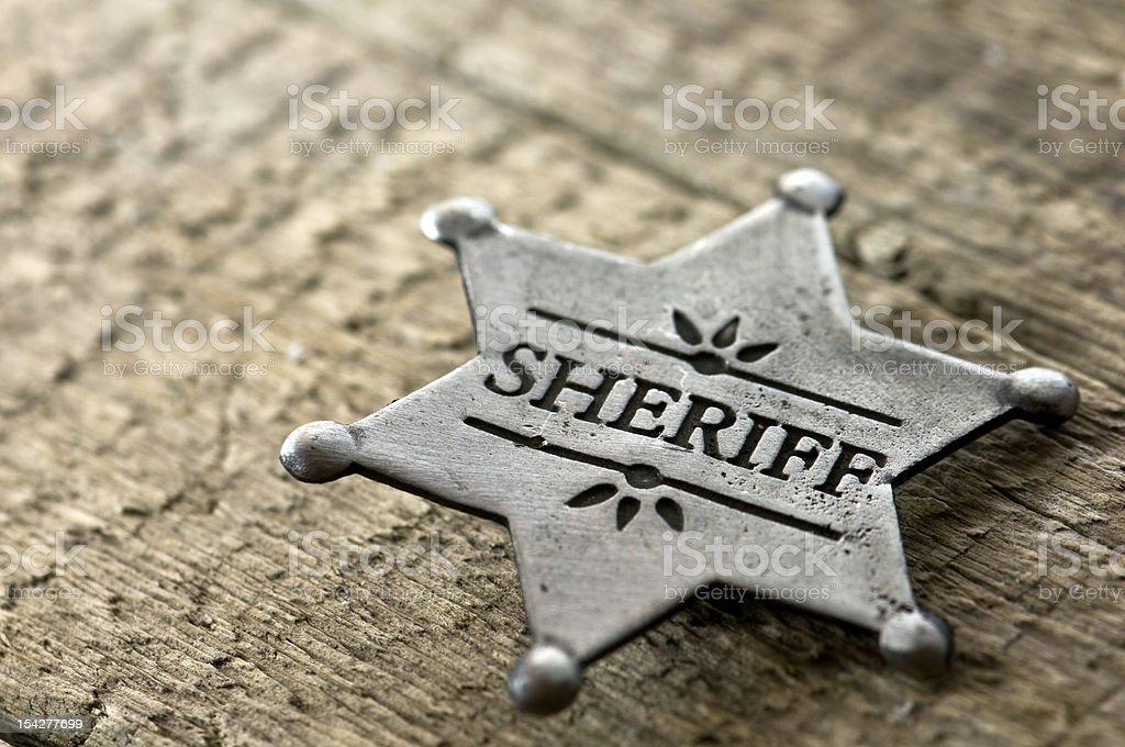 sheriff stock photo