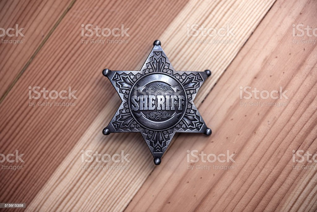 sheriff stock photo