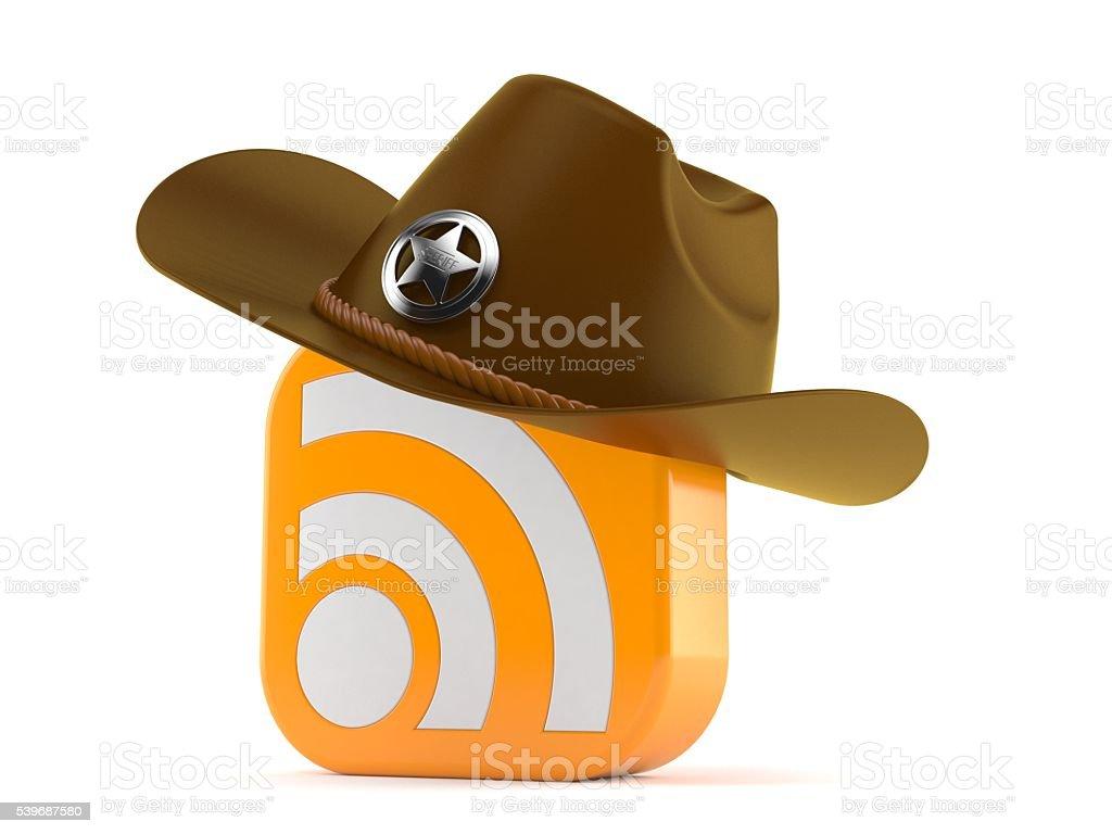 Sheriff RSS stock photo