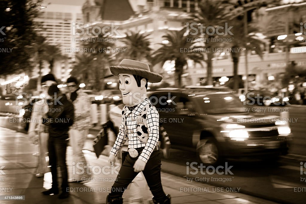 Sheriff Woody stock photo