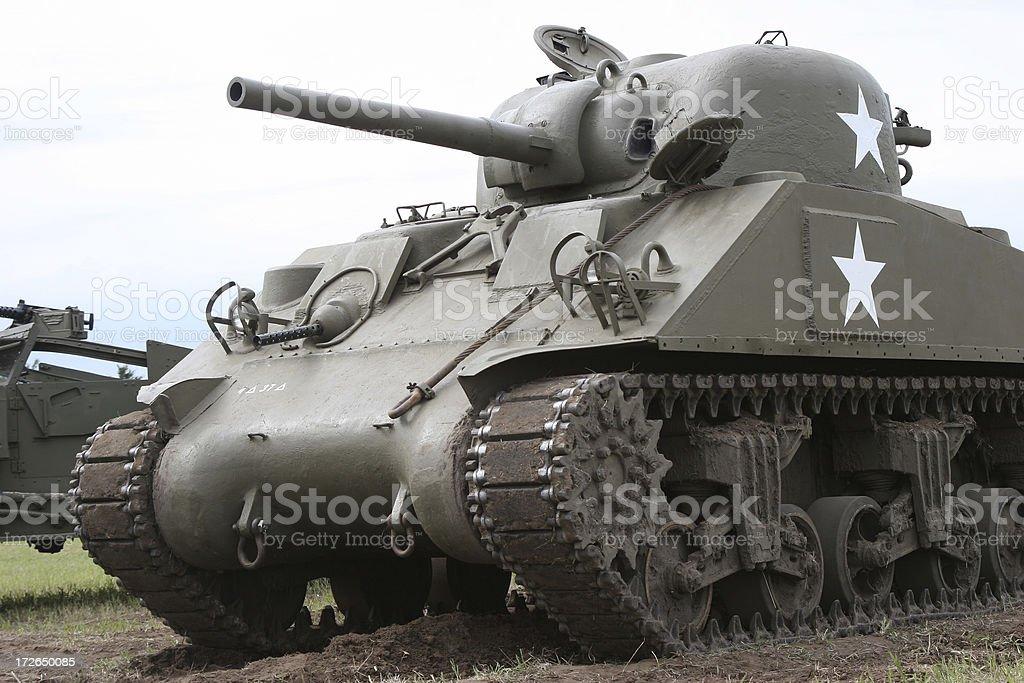 M4A3 Sherman Tank stock photo