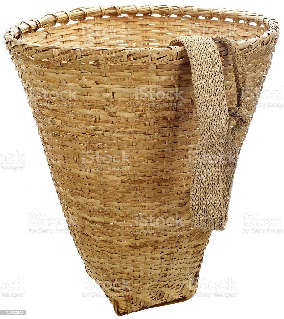 sherpa basket royalty-free stock photo