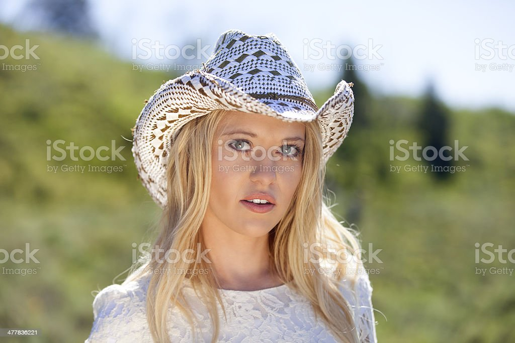 She's a Little Bit Country royalty-free stock photo