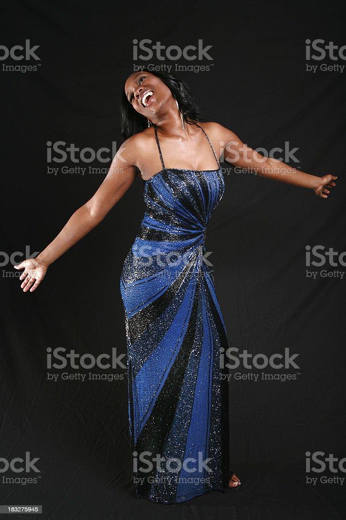 She's A Star stock photo
