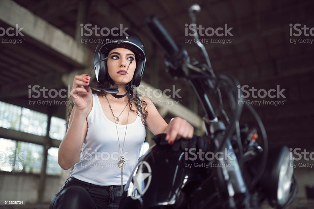She's A Wild Child stock photo