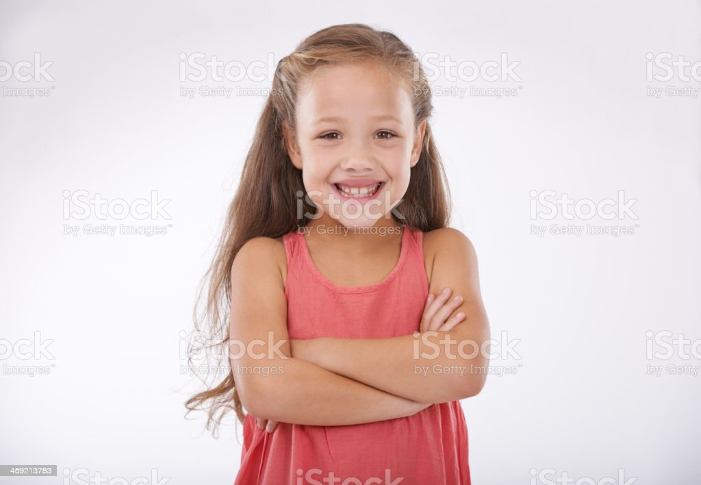 She's adorable stock photo