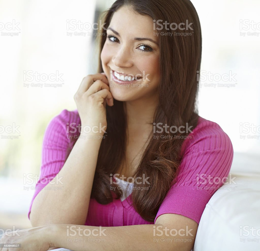 She's an independent young woman royalty-free stock photo