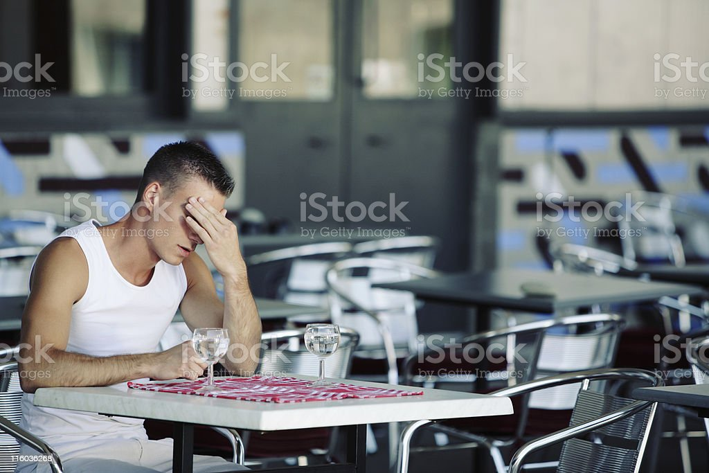 She's gone ... royalty-free stock photo