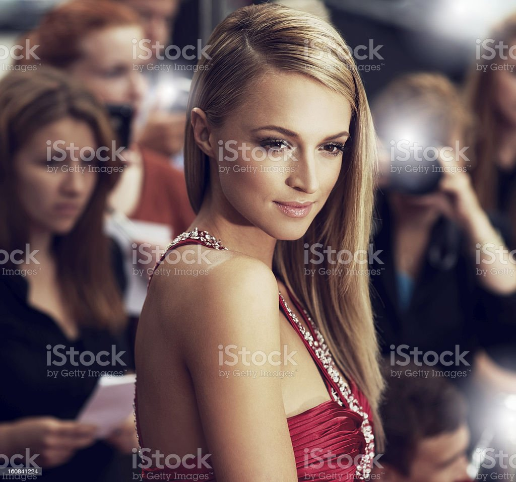 She's got a face for the ages - Classic stock photo