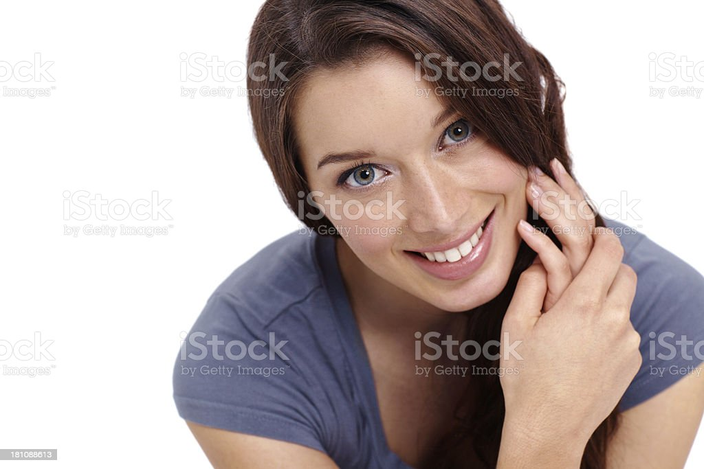 She's got a great smile! royalty-free stock photo