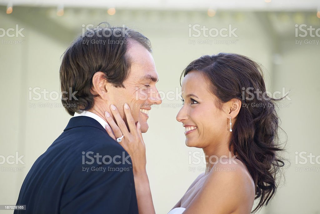 She's got her prince royalty-free stock photo