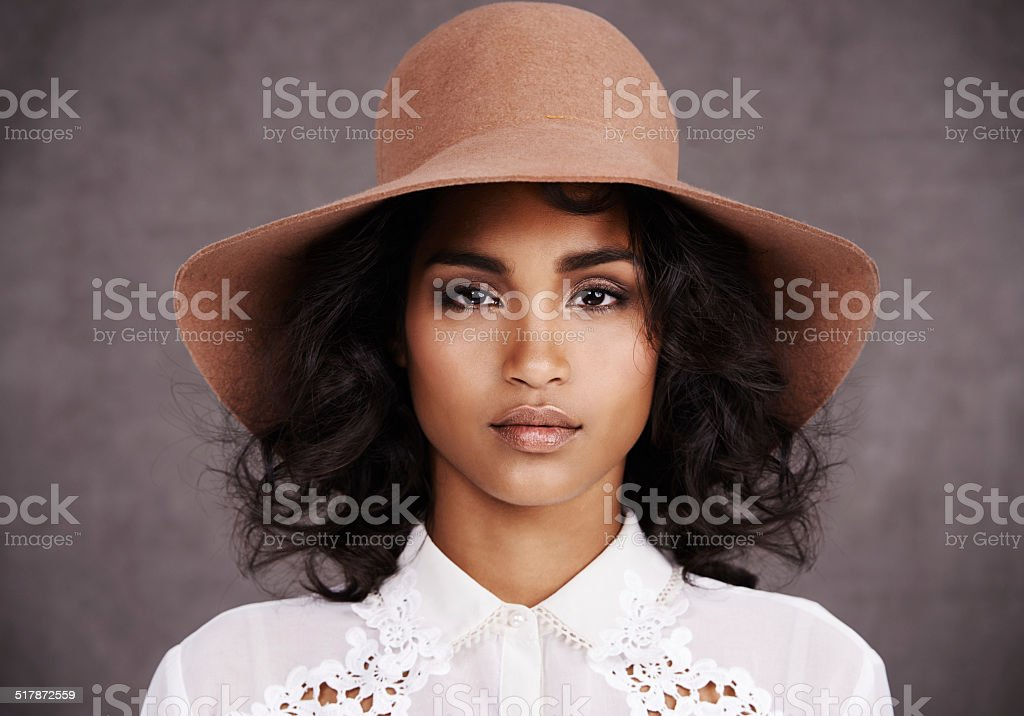 She's got style stock photo
