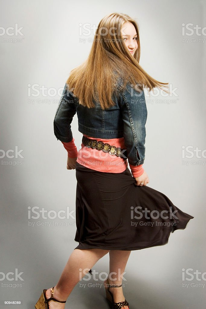 she's got style royalty-free stock photo