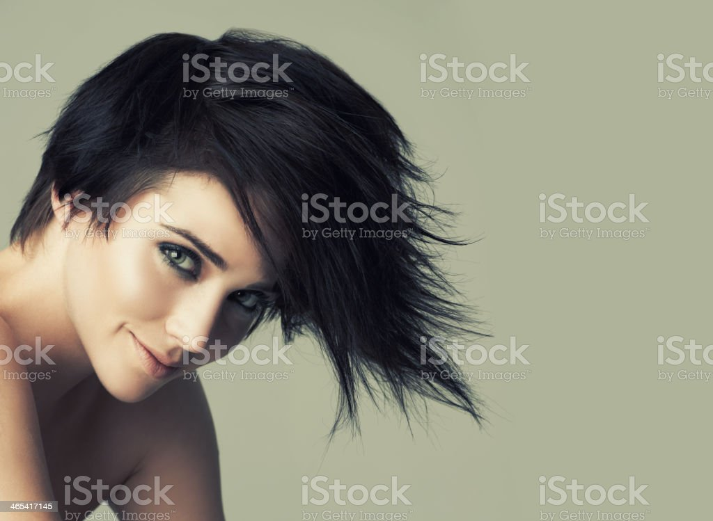 She's got the look stock photo