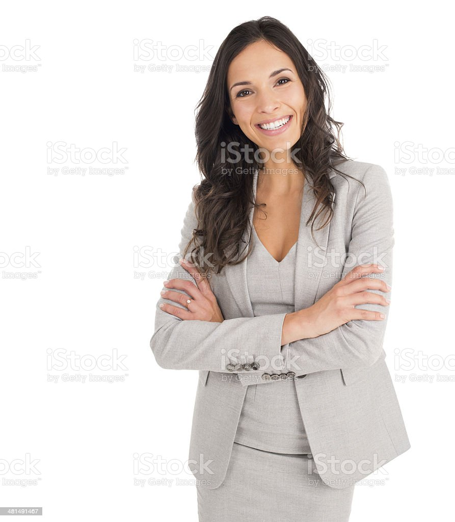 She's looking for a business partner stock photo