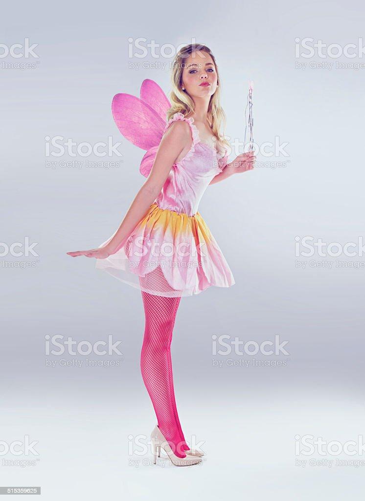 She's magic! stock photo
