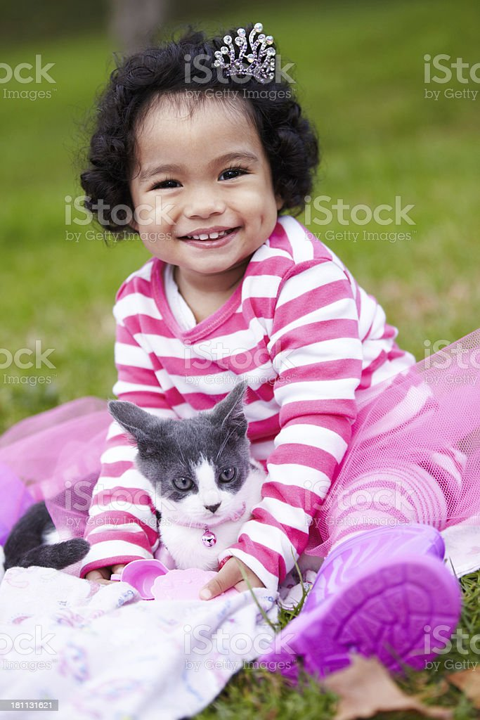 She's my best friend royalty-free stock photo