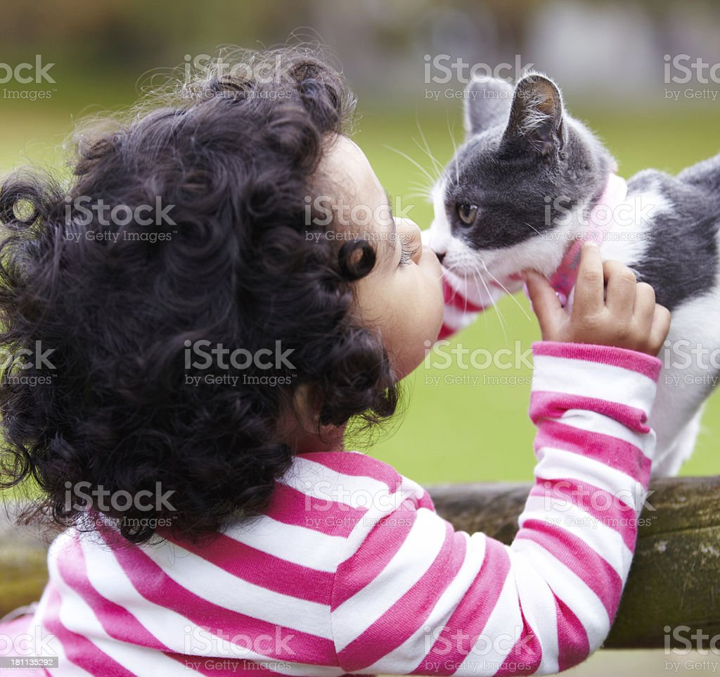 She's my best friend! royalty-free stock photo
