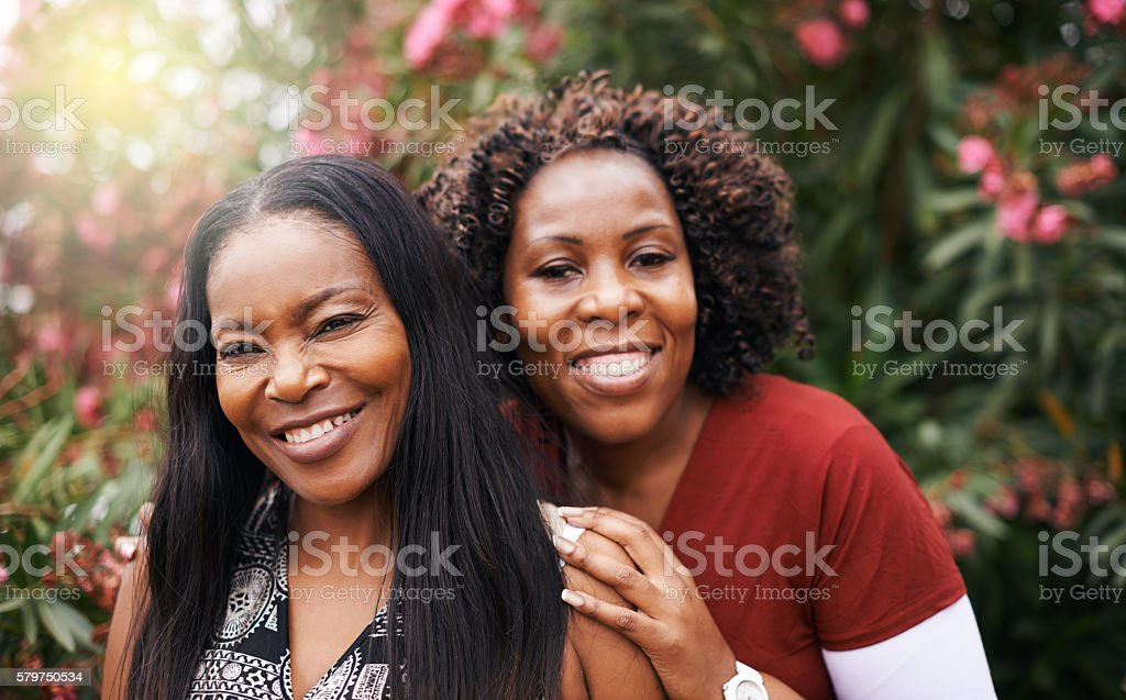 She's my favourite person stock photo