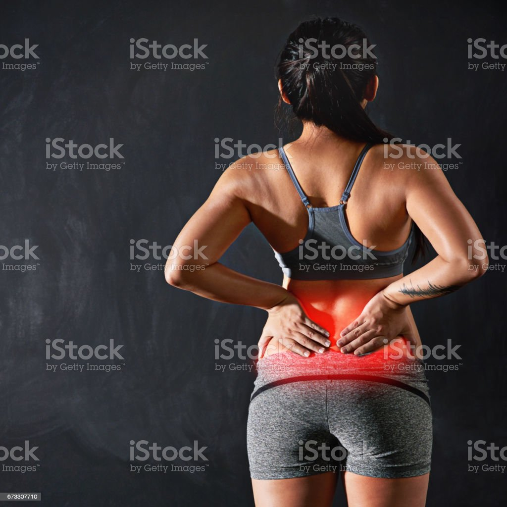 She's overdone it this time stock photo