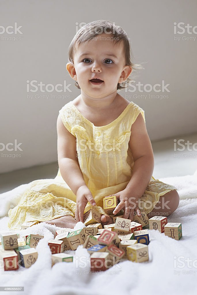 She's so curious stock photo