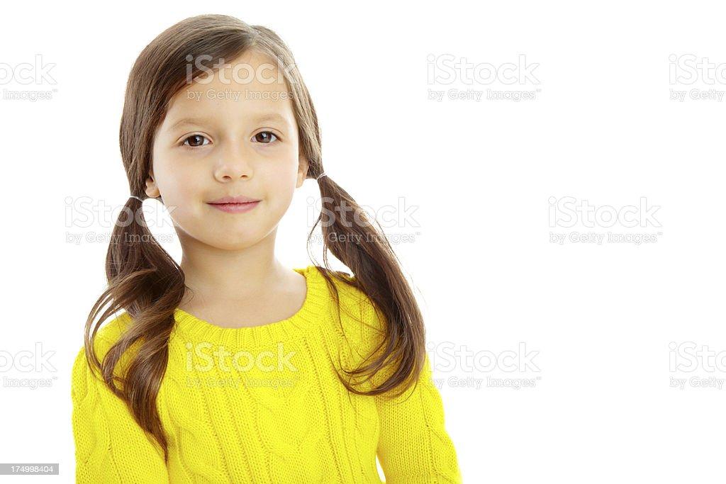 She's so cute! royalty-free stock photo