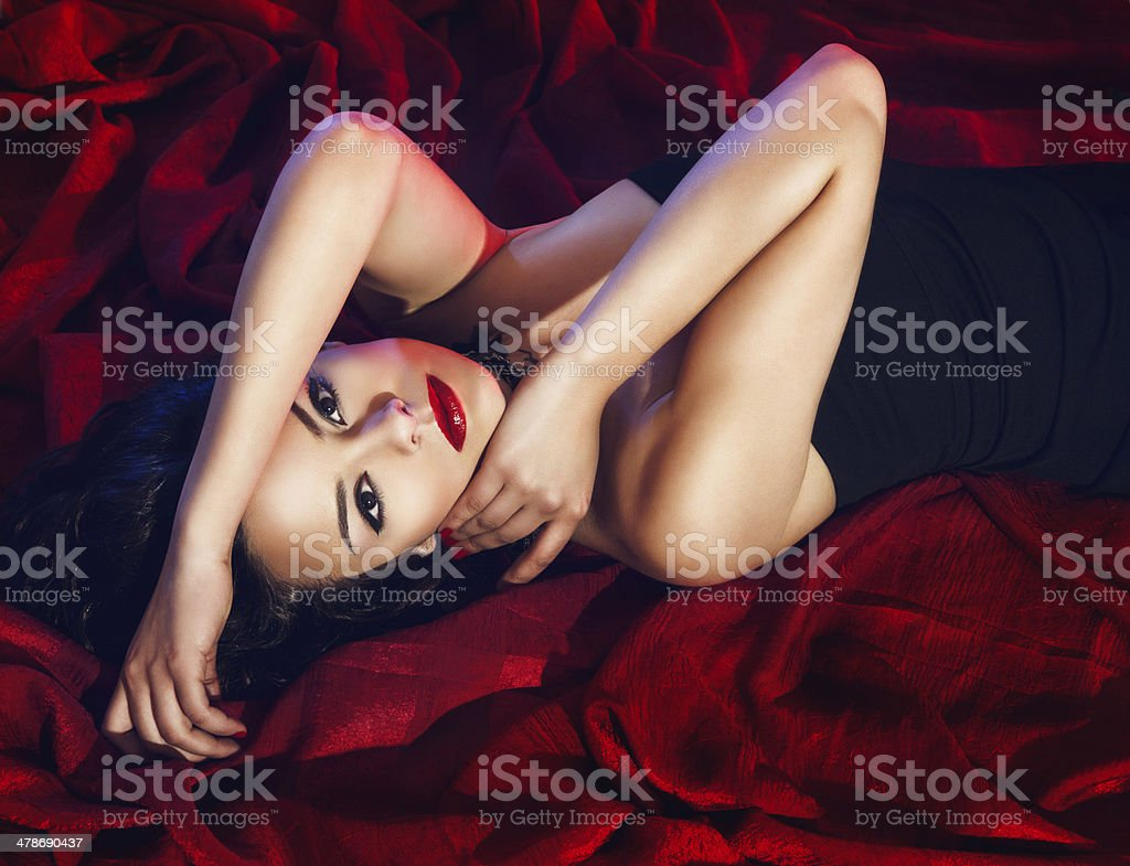 She's your desire stock photo