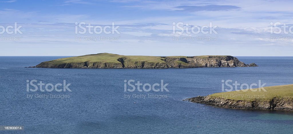Shetland Island royalty-free stock photo