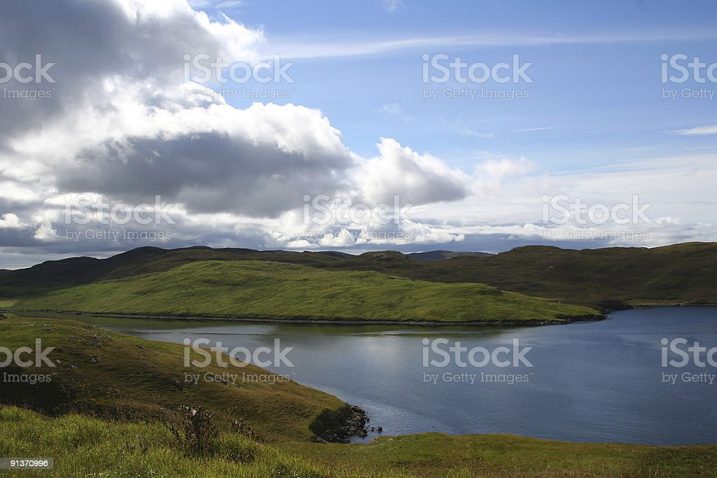 Shetland Isles royalty-free stock photo