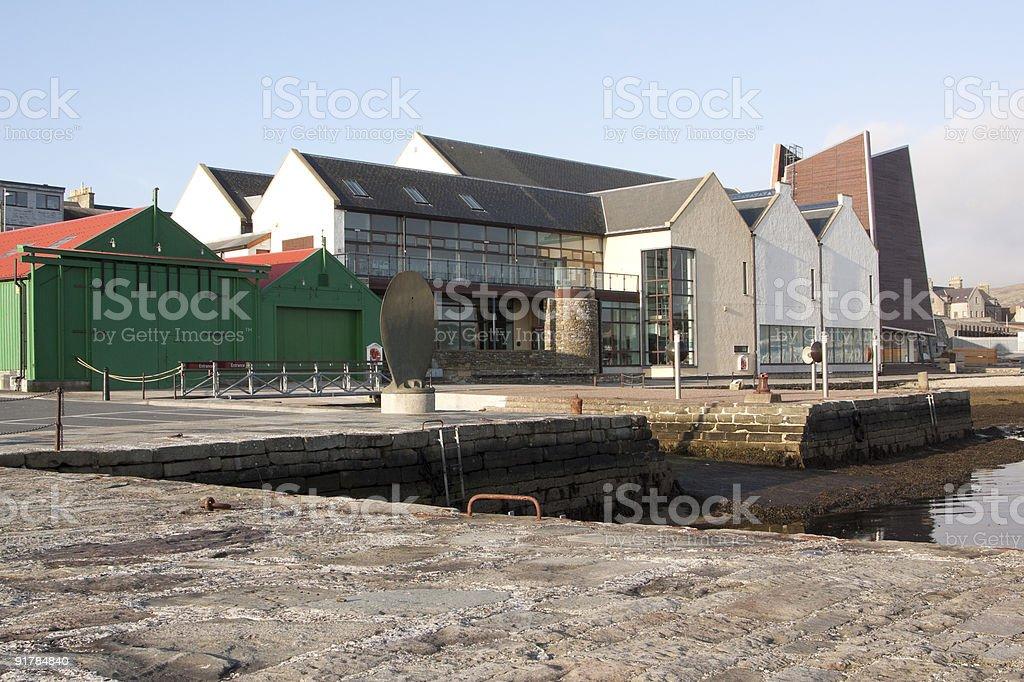 Shetland Museum royalty-free stock photo
