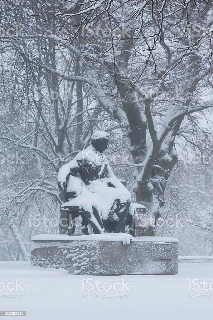 Shevchenko Monument stock photo