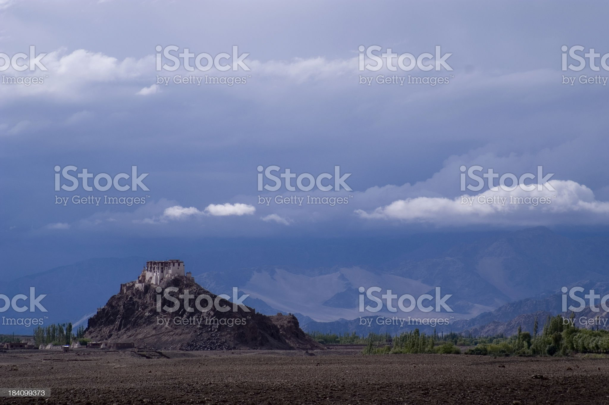 Shey Monastery royalty-free stock photo