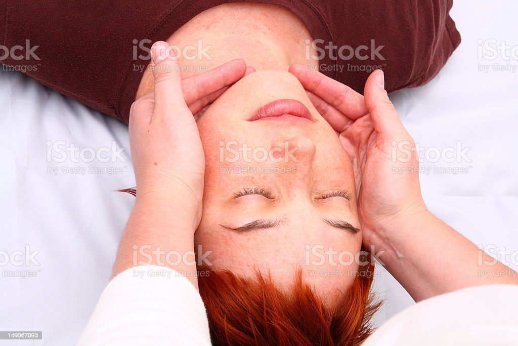 Shiatsu royalty-free stock photo