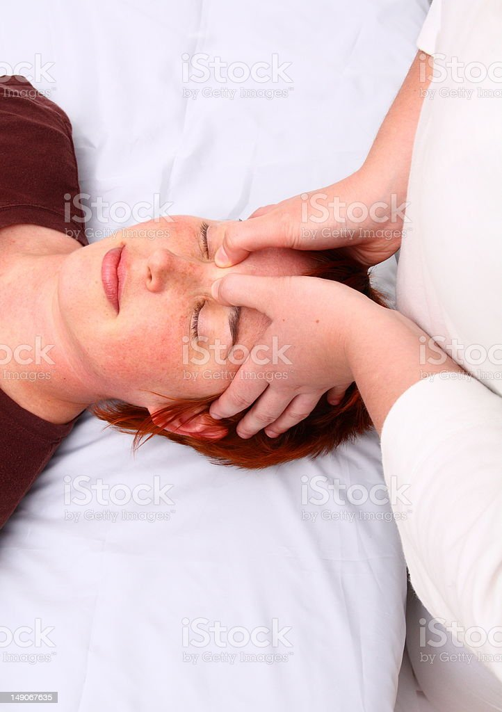 Shiatsu stock photo