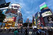 Shibuya Center Street in Tokyo, Japan