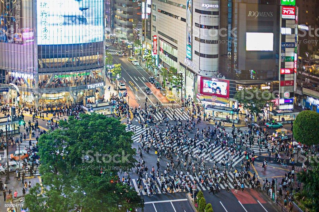 Shibuya stock photo